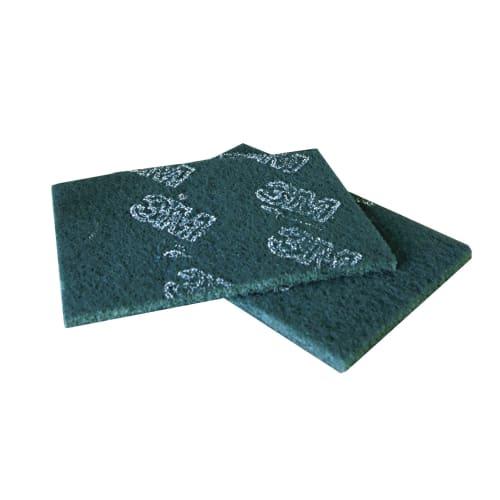 Tampon abrasif vert 15,8 x 22,4 cm photo du produit