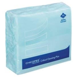 Essuyage non tissé Veraclean Critical Cleaning Plus bleu lisse 31 x 34 cm photo du produit