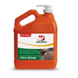 Crème nettoyante d atelier Citrus Orange bidon de 3,78L photo du produit