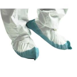 Surchaussure Safefeet Isoguard PLP 35g/m² relargage limité semelle PE 80µm blanc/gris 40cm photo du produit