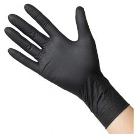 Gant à usage unique nitrile PROP Ecofeeds noir non poudré taille L (8/9) photo du produit