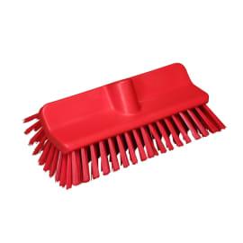 Balai lave-pont fibres médium alimentaire PLP 26,5cm rouge photo du produit