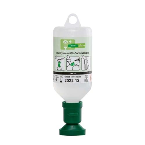 Rince-oeil solution saline Plum NaCl 0,9% 500ml photo du produit
