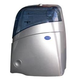 Distributeur de papier toilette Sanit 3 gris pour rouleaux mini-géants photo du produit