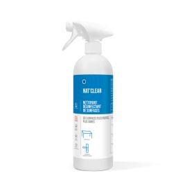 HTS BIO Nat clear détergent désinfectant certifié ECOCERT pulvérisateur de 750ml photo du produit