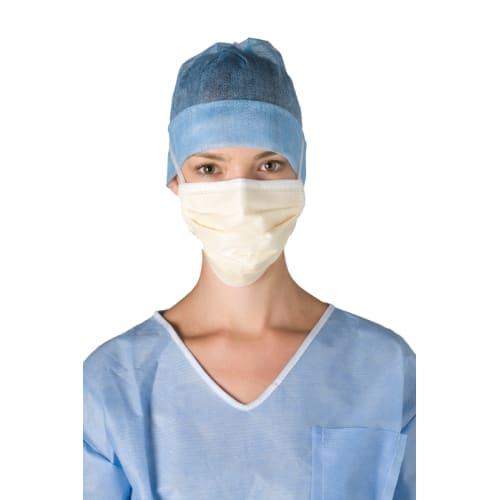 Masque médical Op-Air One Splash type IIR miel àlanières avec film anti-buée photo du produit