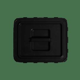 Couvercle à poignée noir pour fûts VAT5 photo du produit