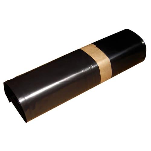 Sac plastique PE BD 110L noir 50µm photo du produit
