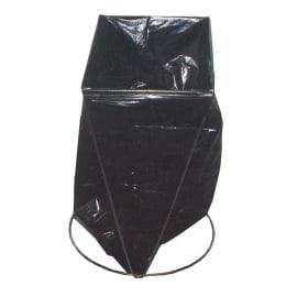 Support sac sur pied double pour moyens sacs photo du produit