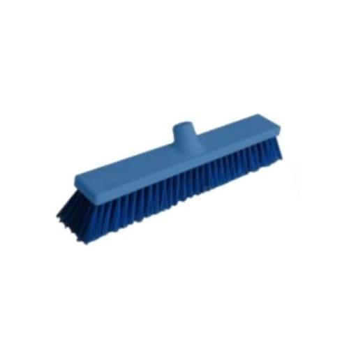 Balai fibres souples alimentaire PLP 40cm bleu photo du produit