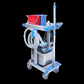 Nettoyeur vapeur SP400KIT avec chariot photo du produit