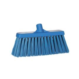 Balai fibres dures alimentaire PLP 33cm bleu photo du produit