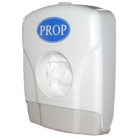 Distributeur de sachets hygiène périodique blanc photo du produit