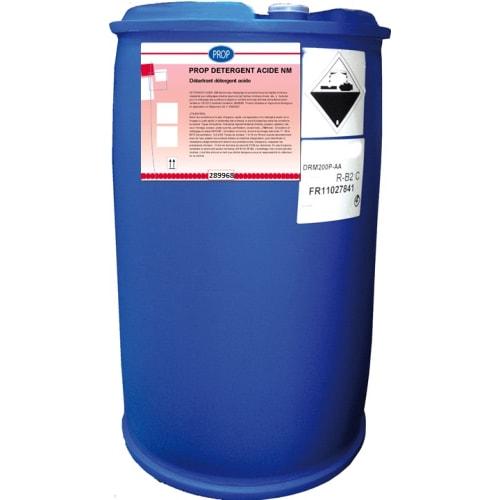 PROP Détergent acide non moussant fût de 274kg photo du produit
