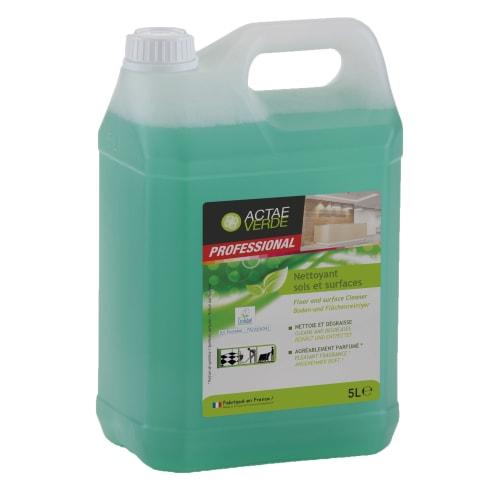 Actae Verde Nettoyant sols et surfaces certifié Ecolabel bidon de 5L photo du produit