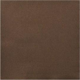 Serviette papier 2 plis 38 x 38 cm chocolat photo du produit