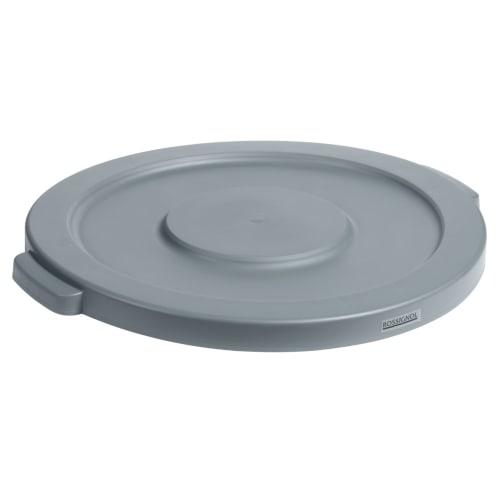 Couvercle plat pour collecteur Barella 80L gris photo du produit