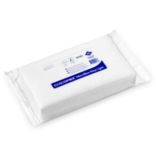 Bandeau Microfibre floor light blanc 45 x 12,5 cm photo du produit
