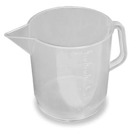 Pichet gradué plastique translucide 3L photo du produit