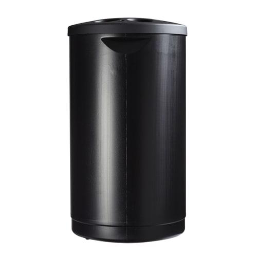 Collecteur de gobelets plastique noir photo du produit Side View L