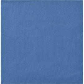 Serviette papier 2 plis 20 x 20 cm bleu marine photo du produit