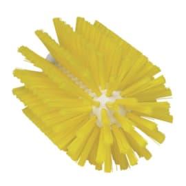 Brosse cylindrique fibres médium alimentaire PLP Ø9cm jaune photo du produit