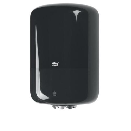 Distributeur d essuyage dévidage central noir M2 moyen modèle photo du produit