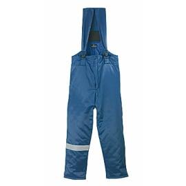 Pantalon de protection grand froid coton/polyester bleu taille L photo du produit