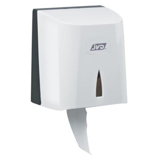 Distributeur de papier toilette balnc avec mandrin amovible pour paquets ou rouleaux photo du produit