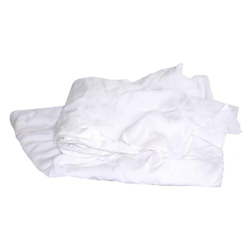 Essuyage issu du recyclage textile drap blanc coton photo du produit