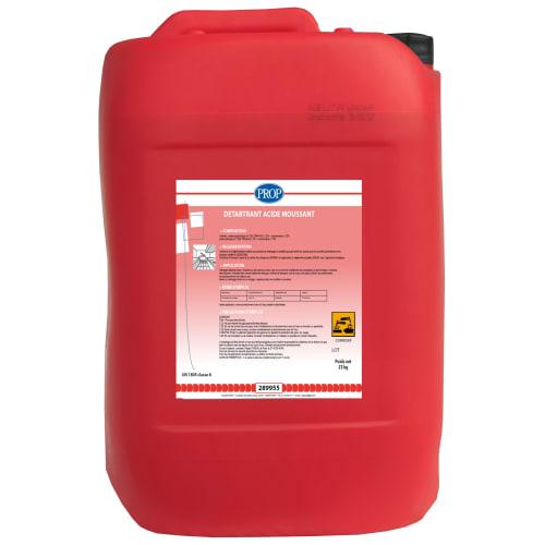PROP Détartrant acide mouss bidon de 23kg photo du produit