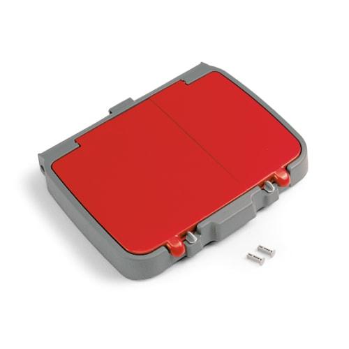 Couvercle pour support sac 120L PLP rouge avec compartiment photo du produit