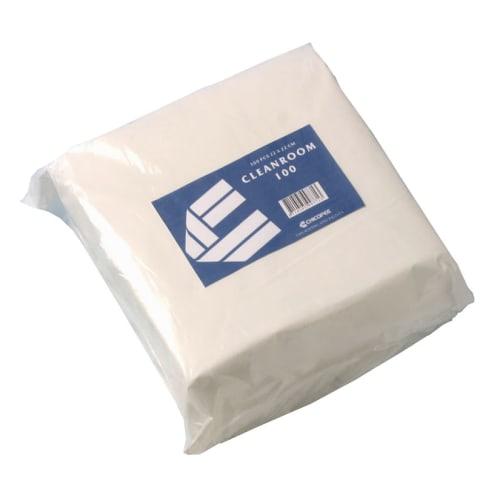 Essuyage non tissé Cleanroom 100 stérile blanc 22 x 22 cm photo du produit