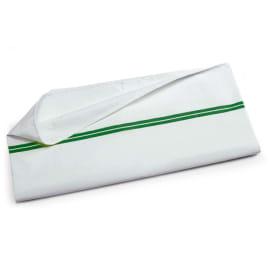 Sac à linge 70L rayé vert photo du produit