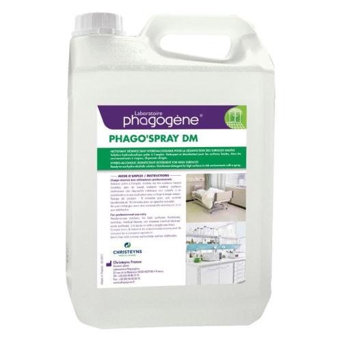 Phago Spray DM détergent désinfectant bidon de 5L photo du produit