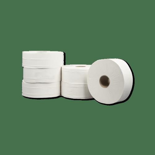 Papier toilette rouleau géant blanc 2 plis 350m prédécoupé 9 x 17,5 cm photo du produit