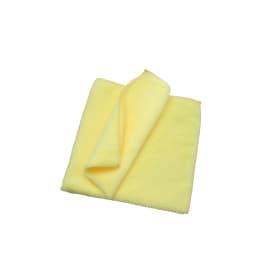 Essuyage microfibre T200 jaune 40 x 40 cm photo du produit