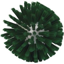 Brosse cylindrique fibres médium alimentaire PLP Ø13,5cm vert photo du produit