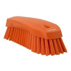 Brosse fibres dures alimentaire PLP 20cm orange photo du produit