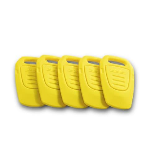 Clé KIK jaune pour balayeuses Karcher photo du produit