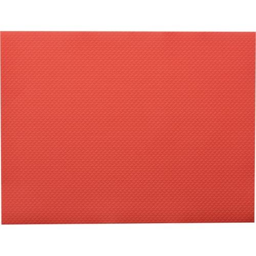 Set de table papier 30 x 40 cm rouge photo du produit