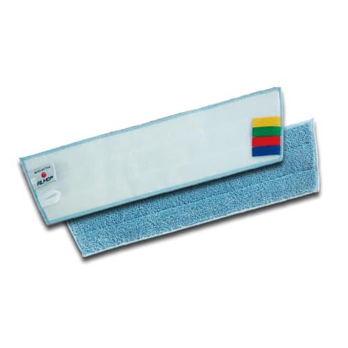 Bandeau de lavage microfibre bleu 30cm pour support manuel photo du produit