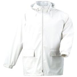 Veste Lorient polyester/polyuréthane imperméable blanc taille L photo du produit