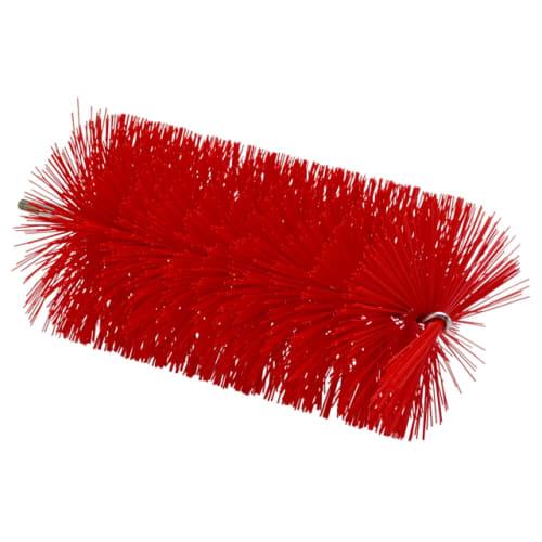 Tête d écouvillon fibres médium alimentaire Ø9cm 20cm rouge photo du produit