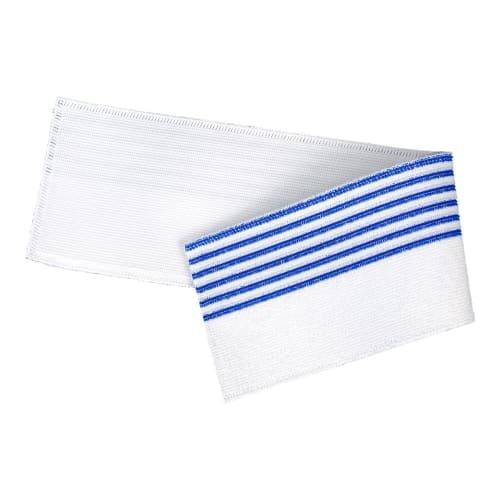 Bandeau de lavage Ultimate 3D Infinite blanc/bleu 11,5 x 50 cm photo du produit