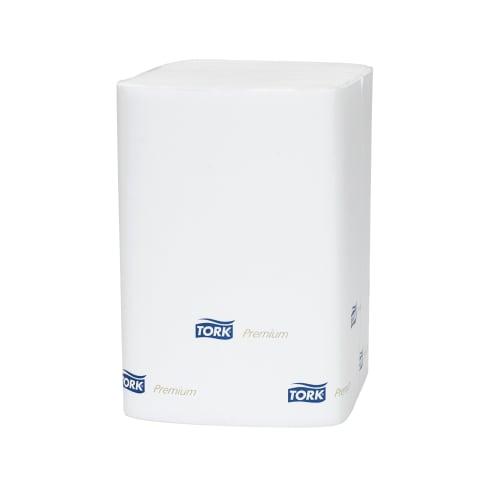 Serviette papier 2 plis 21,6 x 16,5 cm blanc pour distributeurs de serviettes N4 photo du produit
