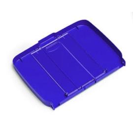 Couvercle pour support sac 110L-130L PLP bleu photo du produit