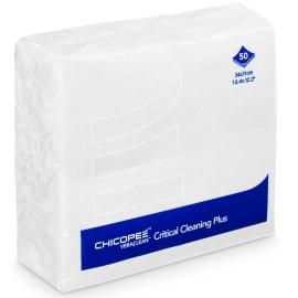 Essuyage non tissé Veraclean Critical Cleaning Plus blanc lisse 31 x 34 cm photo du produit