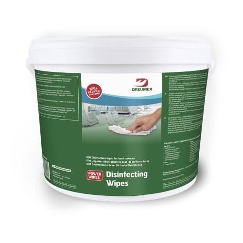Lingettes désinfectantes disinfecting wipes seau de 800 photo du produit