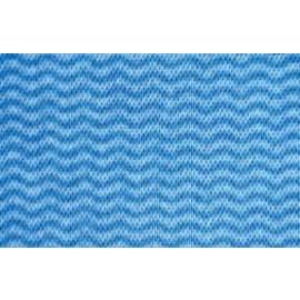 Essuyage non tissé Cotonette bleu 30 x 38 cm photo du produit